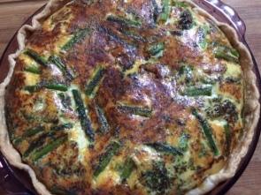 spinach quiche